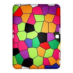 Stained Glass Abstract Background Samsung Galaxy Tab 4 (10.1 ) Hardshell Case