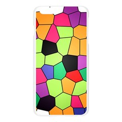 Stained Glass Abstract Background Apple Seamless iPhone 6 Plus/6S Plus Case (Transparent)