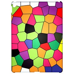 Stained Glass Abstract Background Apple iPad Pro 12.9   Hardshell Case