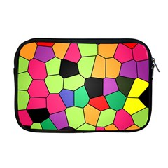 Stained Glass Abstract Background Apple MacBook Pro 17  Zipper Case