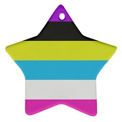 Bigender Flag Ornament (Star)