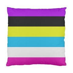 Bigender Flag Standard Cushion Case (two Sides)