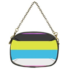 Bigender Flag Chain Purses (two Sides)