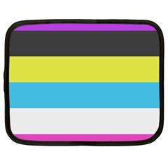 Bigender Flag Netbook Case (xl)