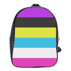 Bigender Flag School Bags(large)
