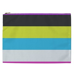 Bigender Flag Cosmetic Bag (xxl)