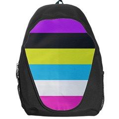 Bigender Flag Backpack Bag