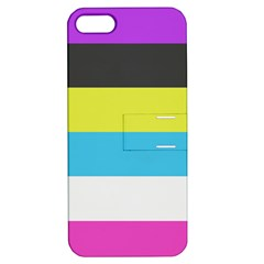 Bigender Flag Apple iPhone 5 Hardshell Case with Stand