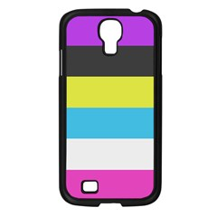 Bigender Flag Samsung Galaxy S4 I9500/ I9505 Case (Black)