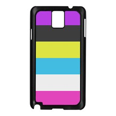 Bigender Flag Samsung Galaxy Note 3 N9005 Case (Black)