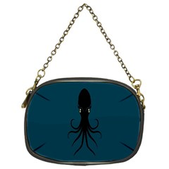 Black Octopus Chain Purses (One Side)