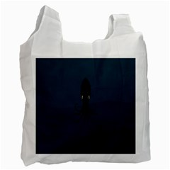 Black Octopus Recycle Bag (One Side)