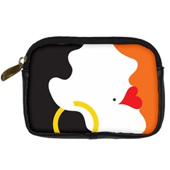 Woman s Face Digital Camera Cases