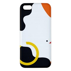 Woman s Face iPhone 5S/ SE Premium Hardshell Case