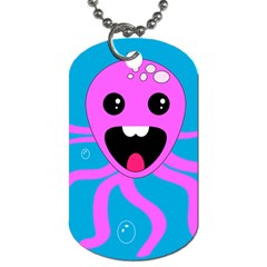 Bubble Octopus Dog Tag (one Side)