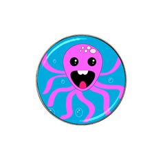 Bubble Octopus Hat Clip Ball Marker (10 Pack)