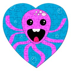 Bubble Octopus Jigsaw Puzzle (heart)