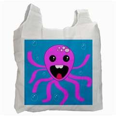 Bubble Octopus Recycle Bag (Two Side)