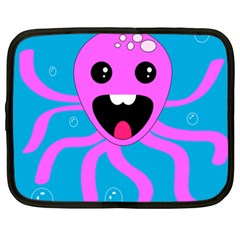 Bubble Octopus Netbook Case (XL)