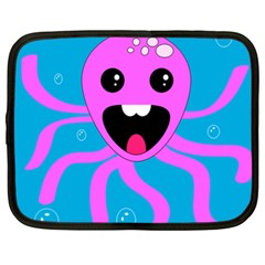 Bubble Octopus Netbook Case (xxl)