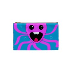 Bubble Octopus Cosmetic Bag (Small)