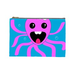 Bubble Octopus Cosmetic Bag (large)