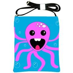 Bubble Octopus Shoulder Sling Bags