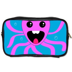 Bubble Octopus Toiletries Bags 2 Side