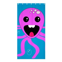 Bubble Octopus Shower Curtain 36  X 72  (stall)