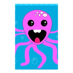 Bubble Octopus Shower Curtain 48  x 72  (Small)