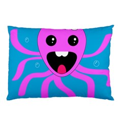 Bubble Octopus Pillow Case (two Sides)