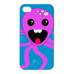 Bubble Octopus Apple iPhone 4/4S Premium Hardshell Case