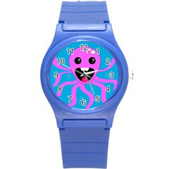 Bubble Octopus Round Plastic Sport Watch (s)
