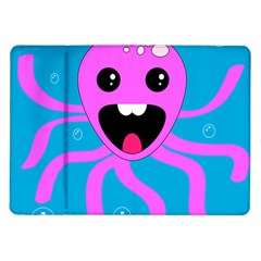 Bubble Octopus Samsung Galaxy Tab 10.1  P7500 Flip Case