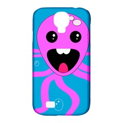 Bubble Octopus Samsung Galaxy S4 Classic Hardshell Case (PC+Silicone)