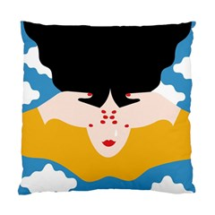 Close Your Eyes Standard Cushion Case (One Side)