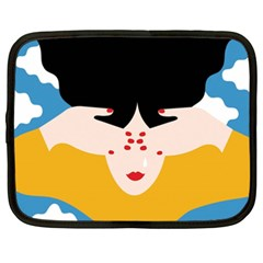Close Your Eyes Netbook Case (XXL)