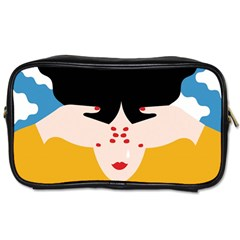 Close Your Eyes Toiletries Bags 2-Side