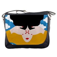 Close Your Eyes Messenger Bags