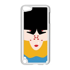Close Your Eyes Apple iPod Touch 5 Case (White)