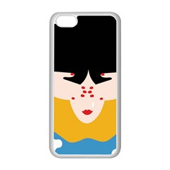Close Your Eyes Apple iPhone 5C Seamless Case (White)