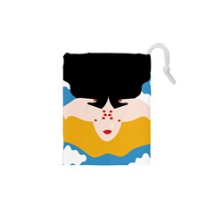 Close Your Eyes Drawstring Pouches (XS)