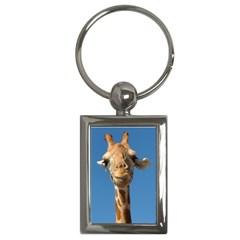 Giraffe Key Chain (Rectangle)