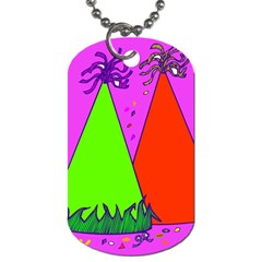 Birthday Hat Party Dog Tag (One Side)