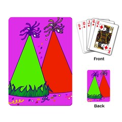 Birthday Hat Party Playing Card