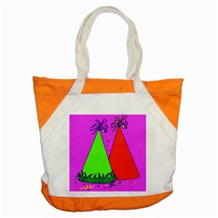 Birthday Hat Party Accent Tote Bag