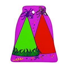 Birthday Hat Party Bell Ornament (2 Sides)
