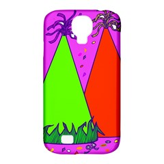Birthday Hat Party Samsung Galaxy S4 Classic Hardshell Case (PC+Silicone)