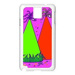 Birthday Hat Party Samsung Galaxy Note 3 N9005 Case (White)