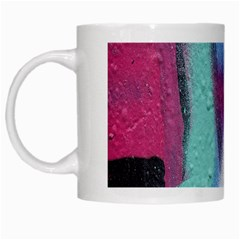 Texture Pattern Abstract Background White Mugs